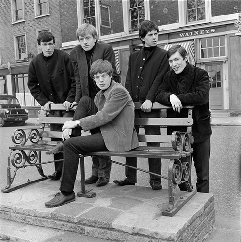 First Photographs of the Rolling Stones, 1962