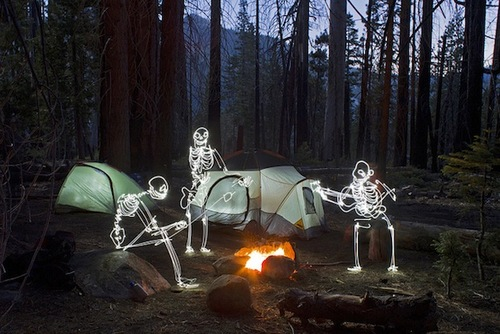 The Amazing Light Painting Photography of Darren Pearson