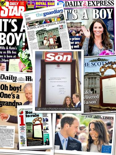 Royal Baby :  @TheSunNewspaper for calling themselves The Son today!