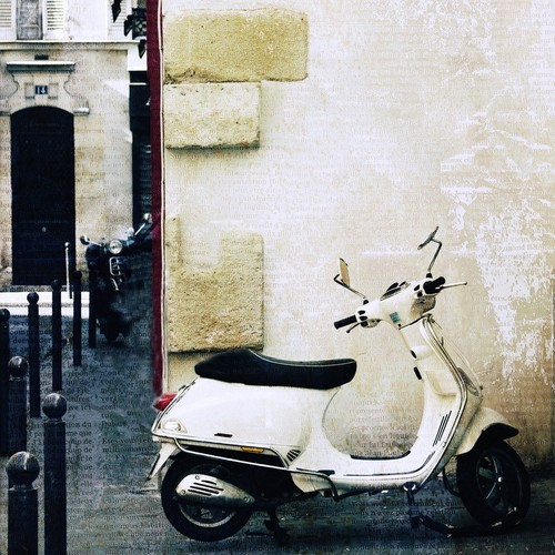 Paris Photography - Paris Vespa