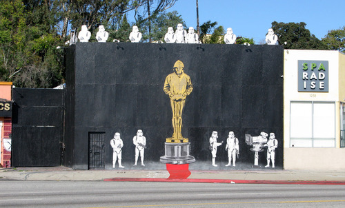 Mr. Brainwash, 'Banksy Oscar', Los Angeles