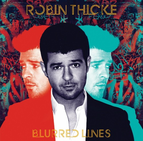 Robin Thicke - Blurred Lines - #ROTD