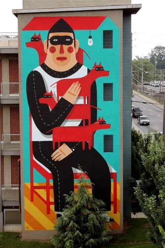 Agostino, Living Walls, Atlanta | street art