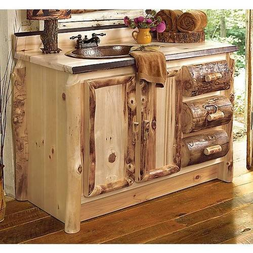 rustic bathroom furniture id 233 e d 233 co mobilier en bois 14281