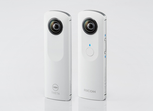 Ricoh's New 'Theta' is a WiFi Camera that Shoots 360-Degree Photos in One Click
