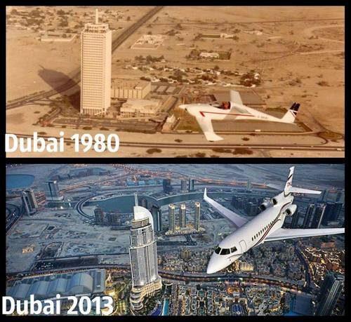 Dubai Before And After...