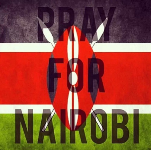 Pray for Nairobi : Thoughts are with the people ...