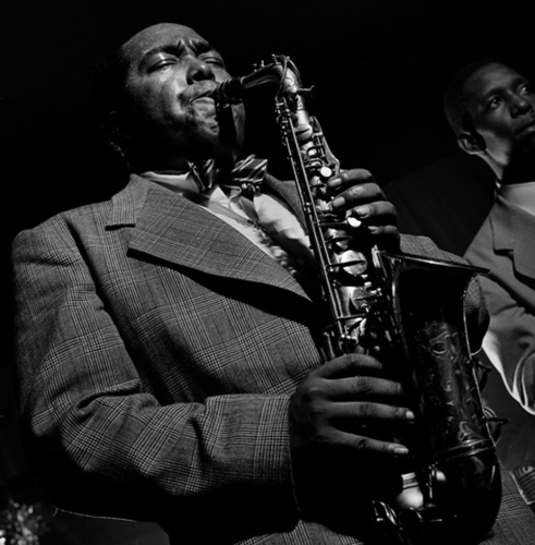 Charlie Parker NYC, 1949 by Herman Leonard : Photographer