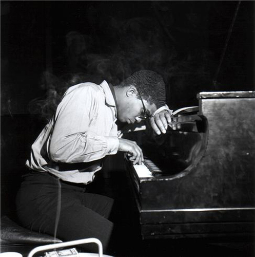 Herbie Hancock by Herman Leonard