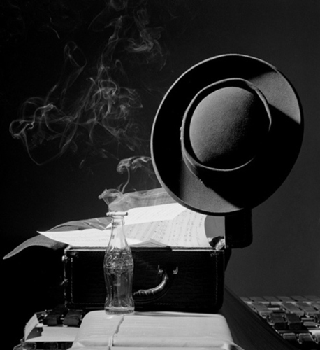 Lester Young's Hat NYC, 1948 by Herman Leonard : Photographer