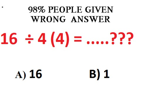 Answer Fast !