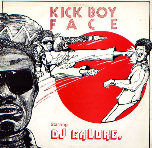 Prince Jazzbo – Kick Boy Face [1976] » Reggae Album Covers