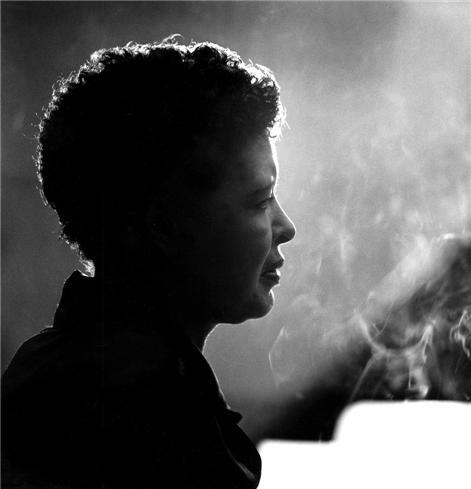 Herman Leonard | Billie Holiday New York, NY 1955