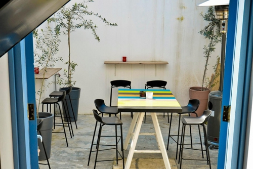 Mobilier Bar restaurant : tabourets Easy out