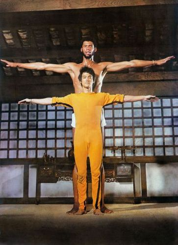 Bruce Lee and Kareem Abdul Jabbar