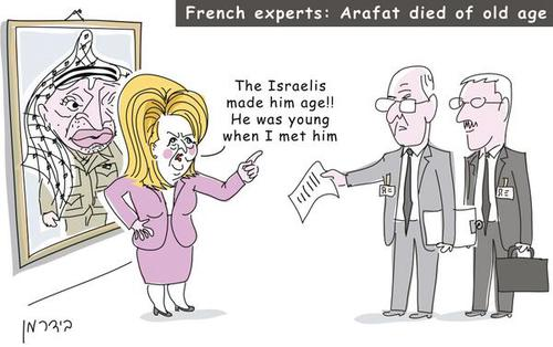 #Israel can't be blamed for everything, apparently: French experts say Arafat wasn't poisoned