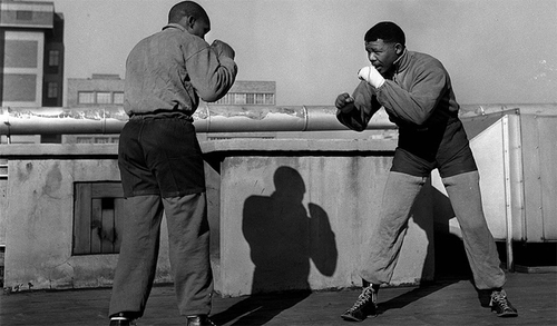Nelson Mandela, boxer: fought in the ring before he fought apartheid