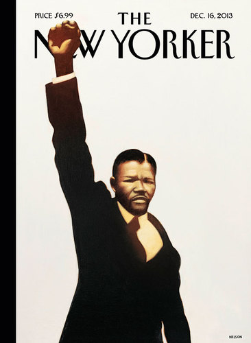 #MANDELA on The New Yorker cover