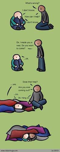 How to support someone who's depressed