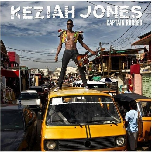"Keziah Jones album cover ""captain rugged"""
