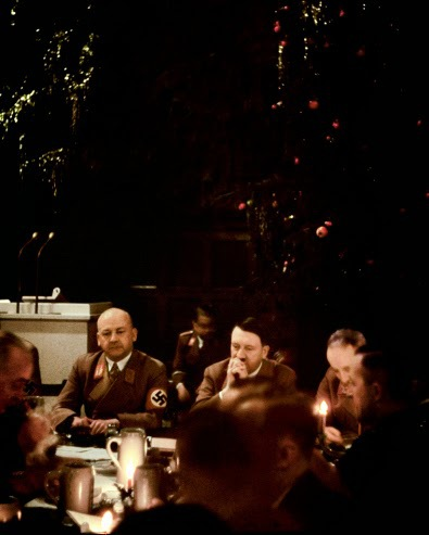 Scene From a Nazi Christmas Party in 1940