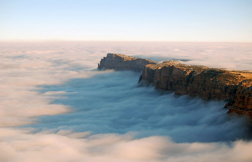 A Sea of Clouds Fills the Grand Canyon - 12 Photos