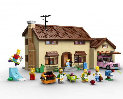 LEGO dévoile le coffret 71006 The Simpsons House !