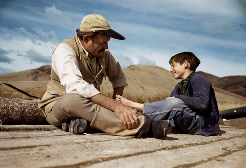 Robert Capa's Unpublished Color Photographs