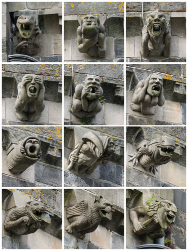 Picture of the Day: The Gargoyles of Paisley Abbey «TwistedSifter