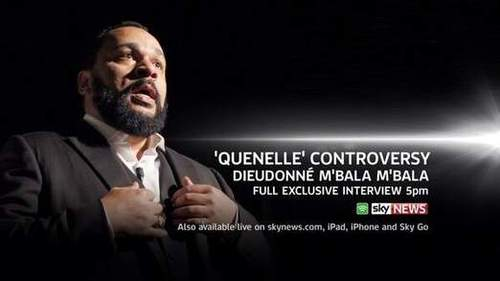 Exclusive: Dieudonne Breaks Silence On Quenelle