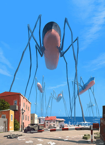 More of Alex Andreyev's Surreal Illustrations | Abduzeedo Design Inspiration