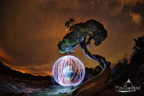 Night photography by Max Seigal