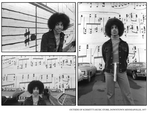 Never-before seen shots of 17-year-old Prince are to be exhibited for the first time as part of a to