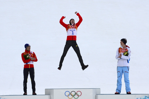 Sochi 2014 Olympics: Reaching the podium - Photos - The Big Picture - Boston.com