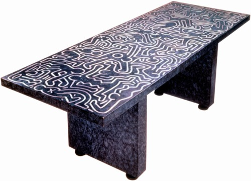 Keith Haring table