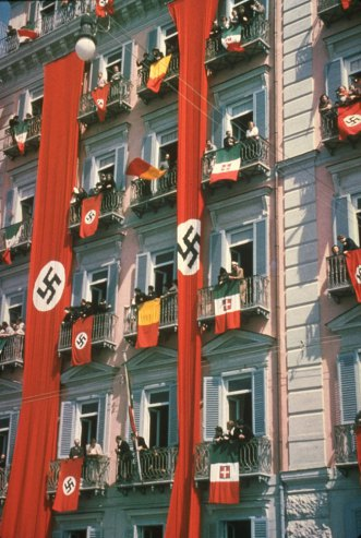 A Brutal Pageantry: The Third Reich's Myth-Making Machinery, in Color