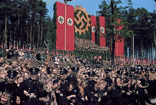 A Brutal Pageantry: The Third Reich's Myth-Making Machinery, in Color   LIFE.com