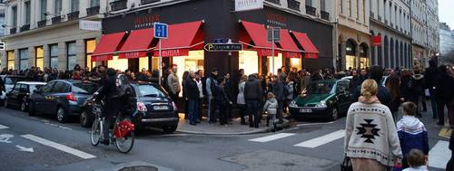 Vernissage Birdy Kids: la file d'attente