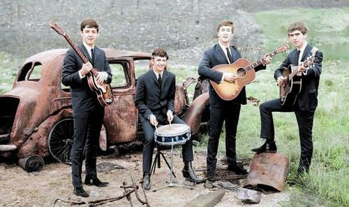 The Beatles, 1962.