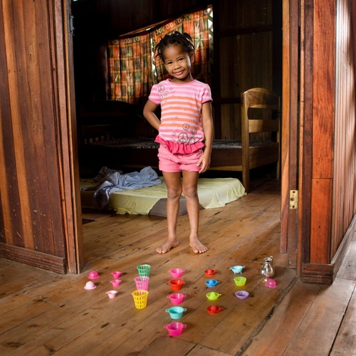 Child's play: kids from Alaska to Zambia pose with their favourite toys | Art and design | theguard