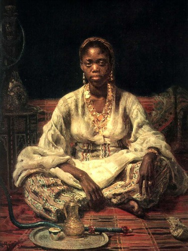 Negrityanka (Negress)  1876  Russian Museum, St. Petersburg