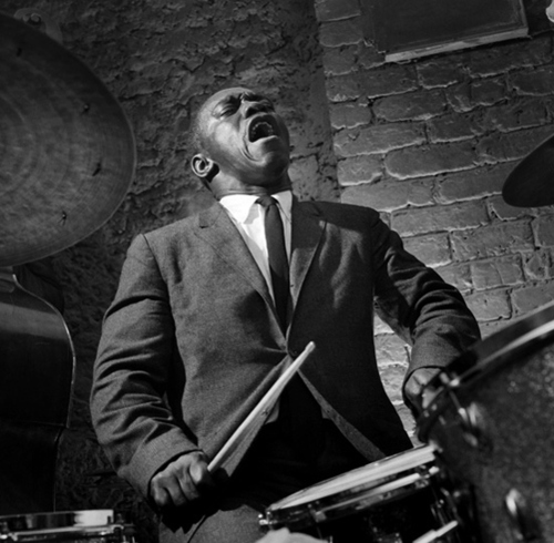 Herman Leonard : Photographer | Art Blakey, Paris 1958