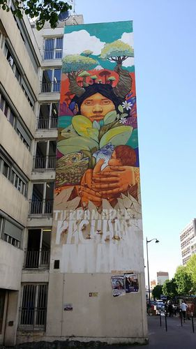 Walking in Paris #streetart