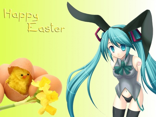 Miku Happy Easter !