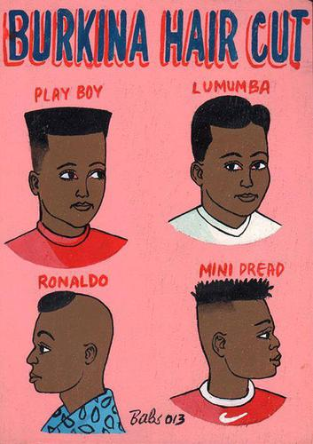 #Burkina hair cut