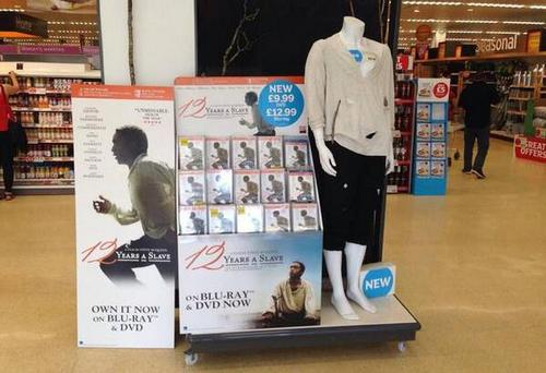 Sainsbury's apologises following Twitter backlash for slave clothes display