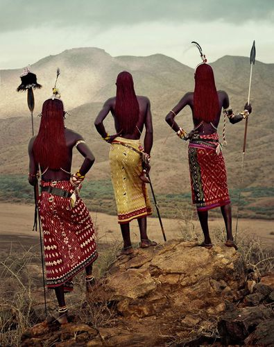 Samburu warriors. Standing tall and proud. Before they pass away  #africa #sumptious