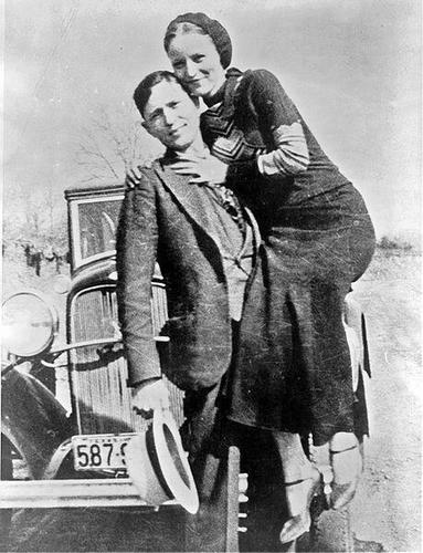 Bonnie and Clyde, 1933.