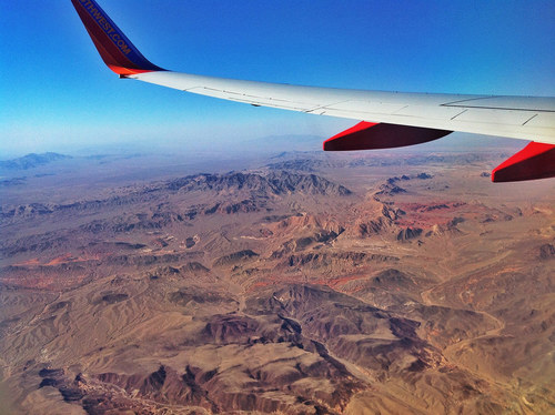 39 Truly Spectacular Views Out Airplane Windows : Nevada