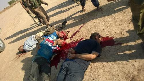 All those #iraq soldiers were executed by a Jihadist from #tunisia